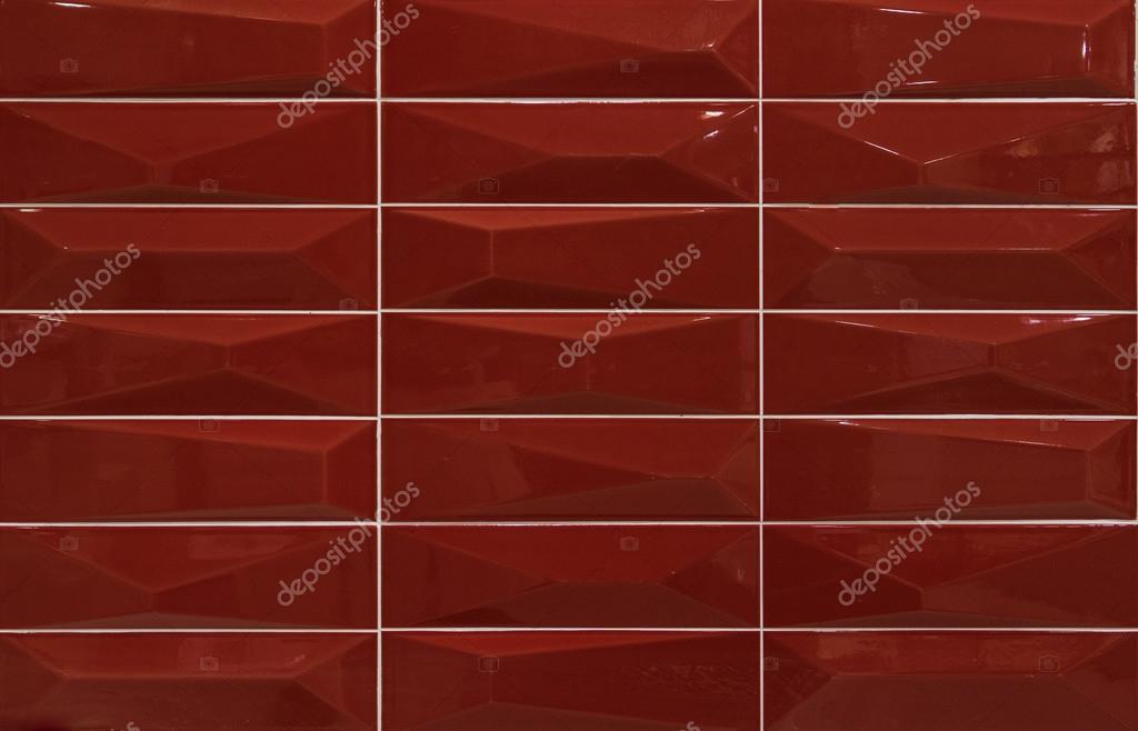 Rot Mosaik Fliesen Stockfoto C Patpongrstock 104710248