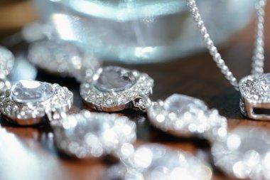 Beautiful wedding jewelry for bride