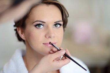 Wedding makeup for beautiful bride