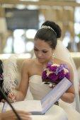 nevěsta a ženich registraci manželství