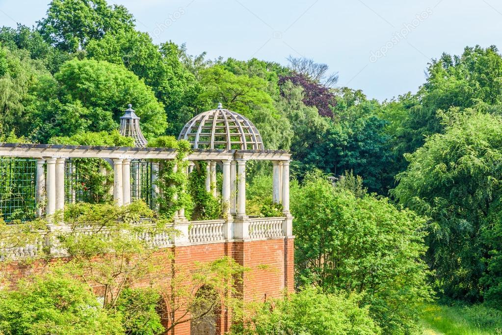 Pergola In Tuin : Hampstead pergola en tuin van de heuvel u stockfoto victorhuang