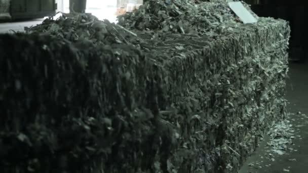 Výrobní odpad papíru sou - práce dopravní noviny a časopis typogra