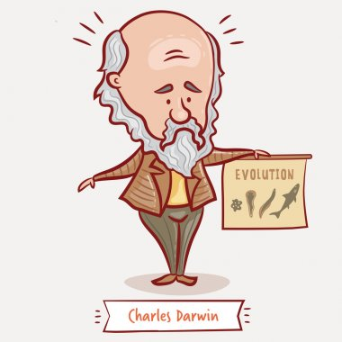 The naturalist and geologist Charles Darwin