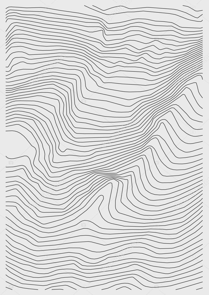 Vector fondo blanco neto de topografía — Archivo Imágenes ...