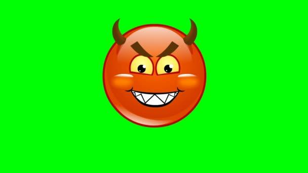 animovaný úsměv zlo