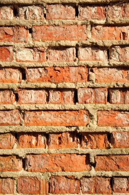 The image of brick texture