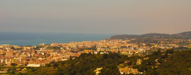 View on the city: Spain Calella