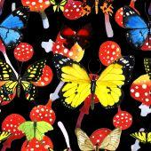 Akvarell pillangó mintás