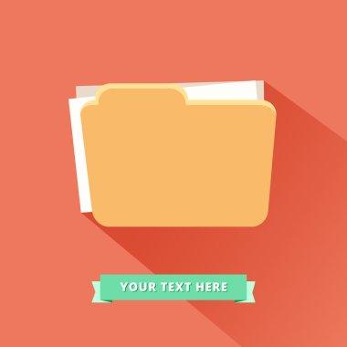 Folders icon Logo
