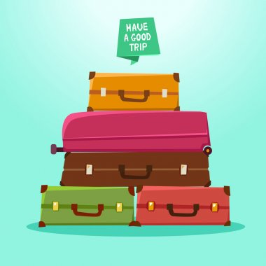 suitcases, backpacks, packages
