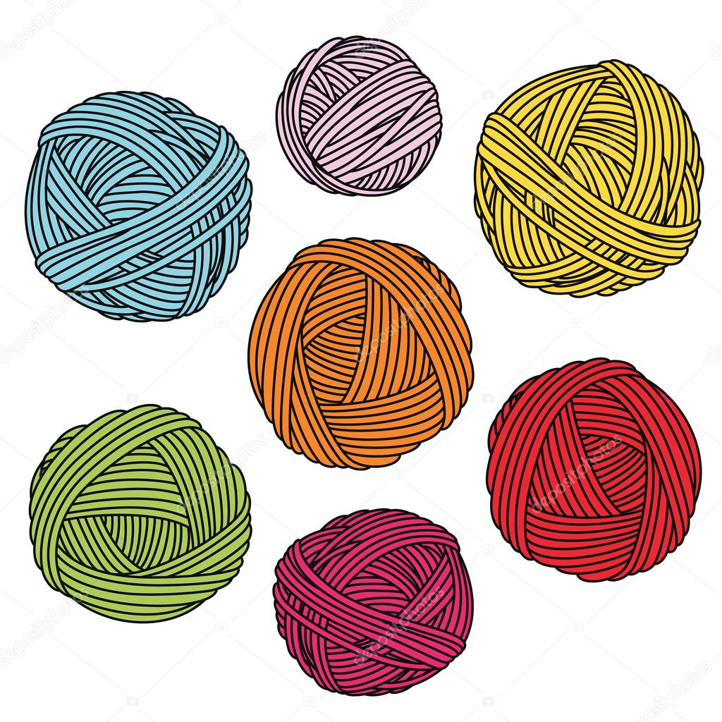 yarn coloring picture