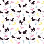 DogCat seamless pattern