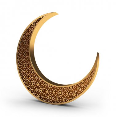 Gold Arabesque Moon