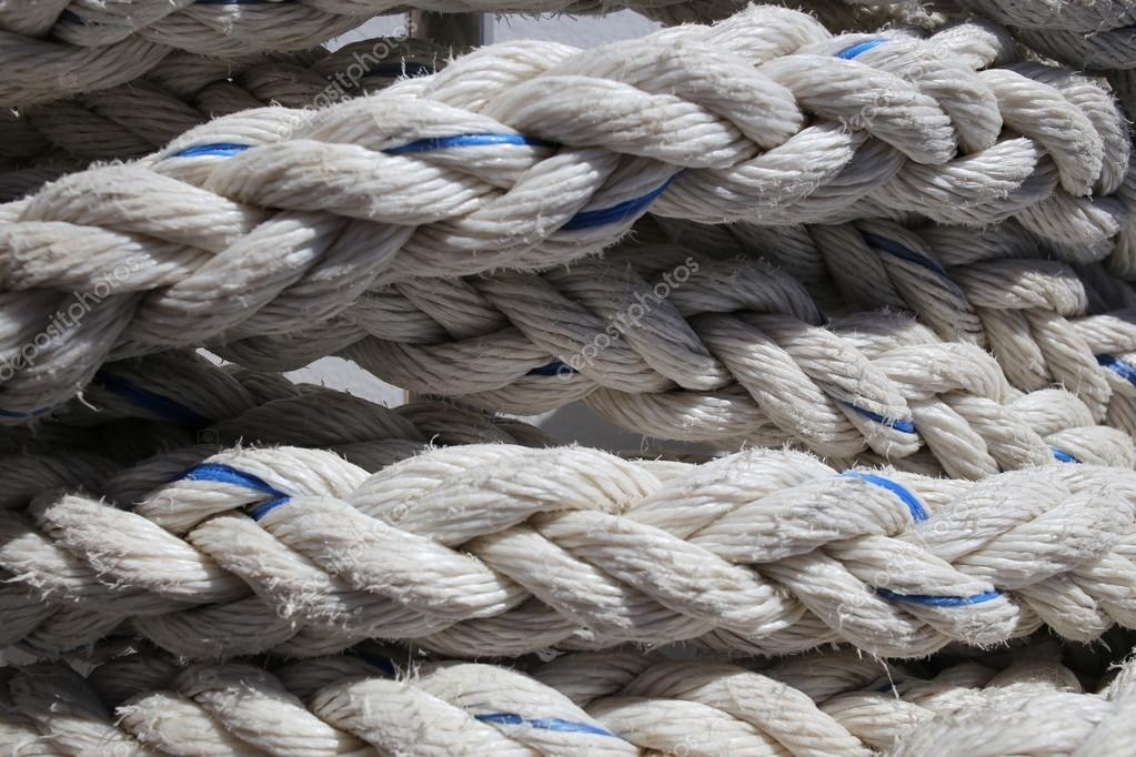 Thick Rope background lines curl.