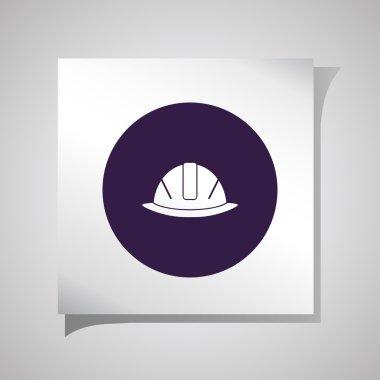 icons of helmet . Vector illustration