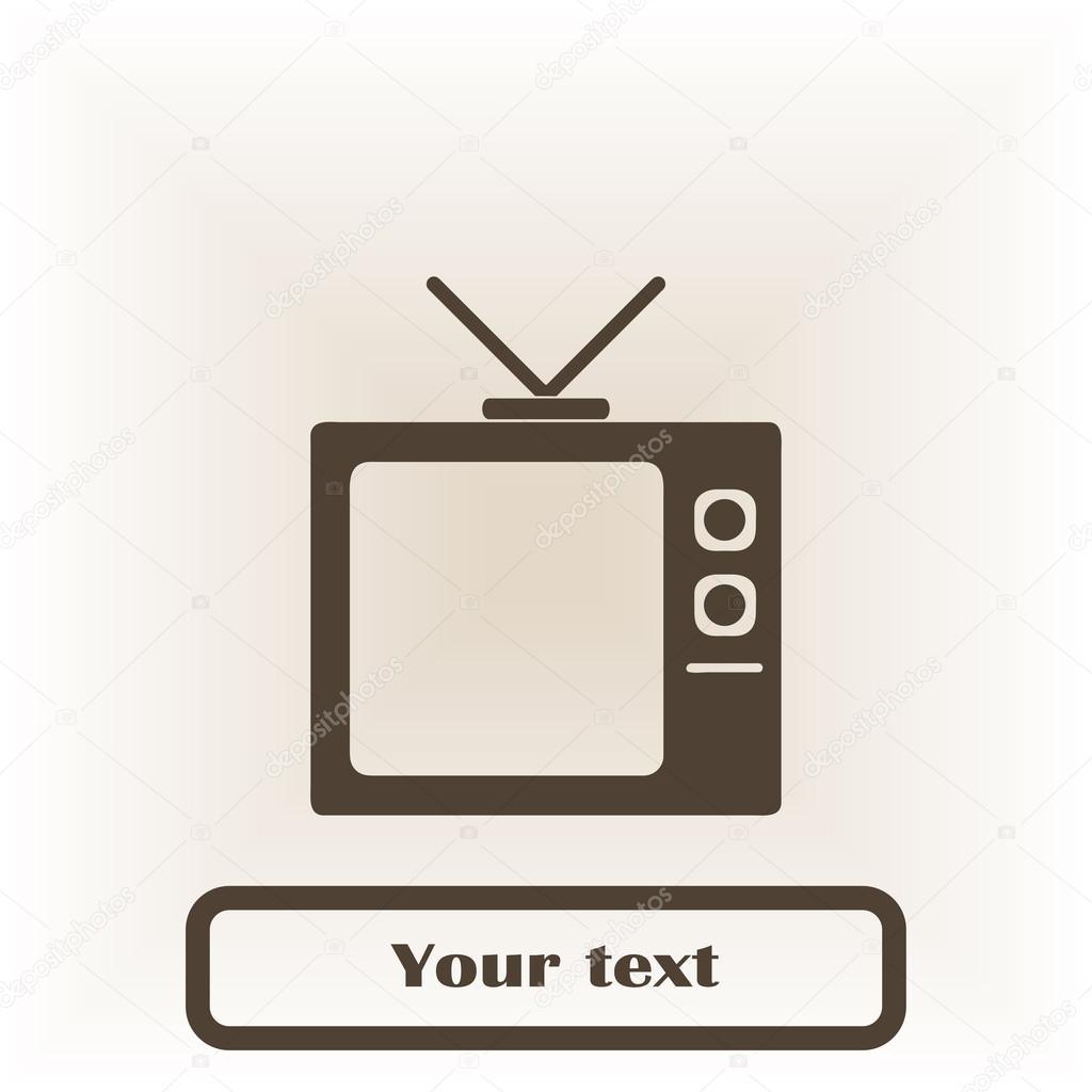 Platte Tv Kast.Platte Icoon Van Tv Kast Stockvector C Chack Rick 116111114