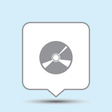 CD icon. web design