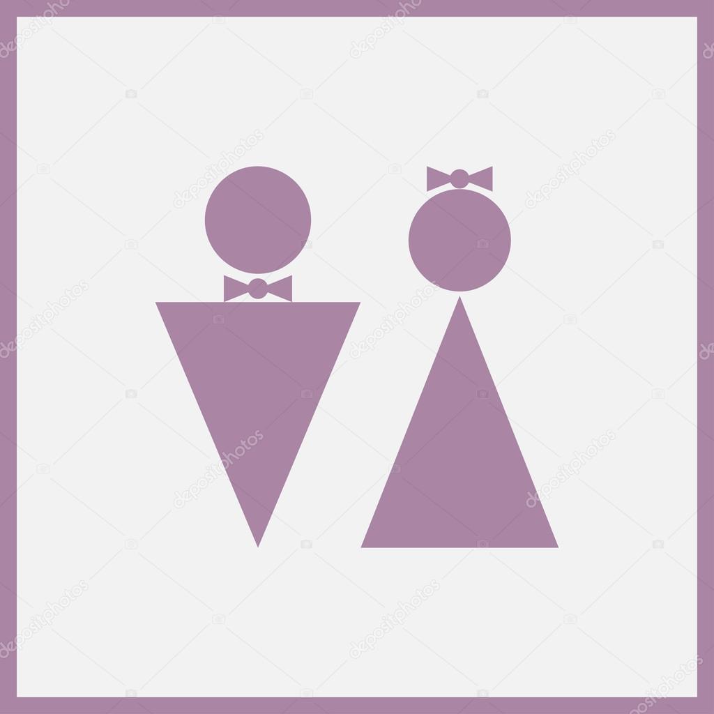 Lustige Wc Toilette Symbole Web Design Stockvektor Chackrick