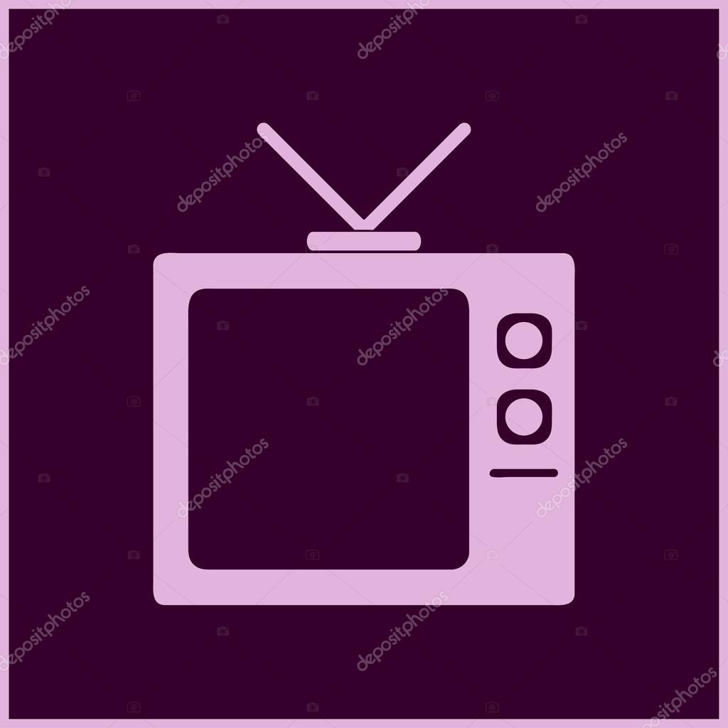 Platte Tv Kast.Tv Kast Icon Vectorillustratie Stockvector C Chack Rick 121436706