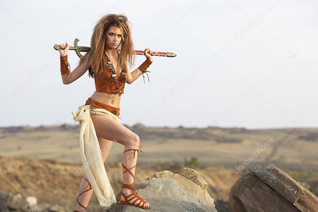 Красивые девушки с загаром амазонки фото 709-708