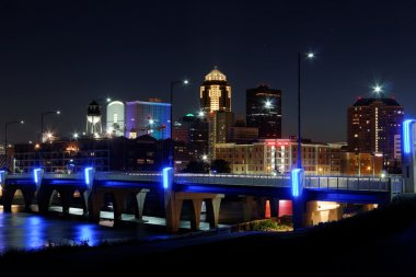 Des Moines Skyline with Orlando Tribute