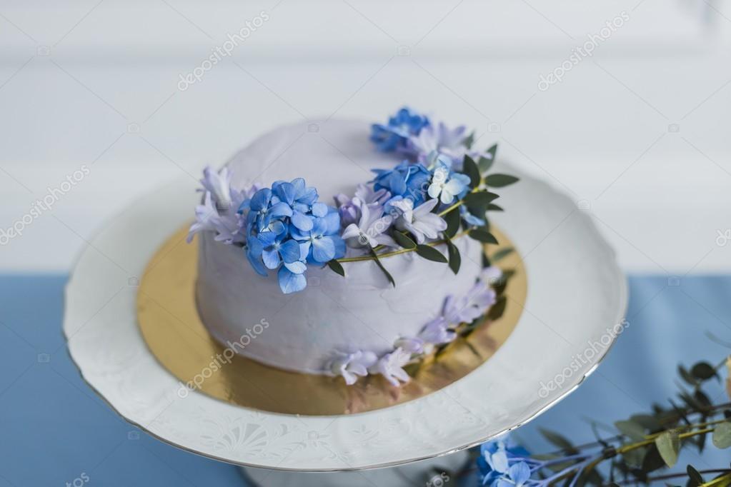 Цветы для украшения торта — photo 11