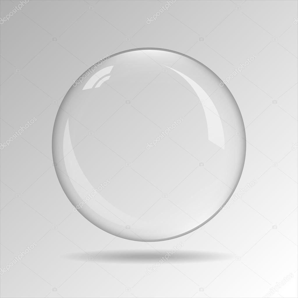 Burbuja de vector transparente — Archivo Imágenes Vectoriales ...
