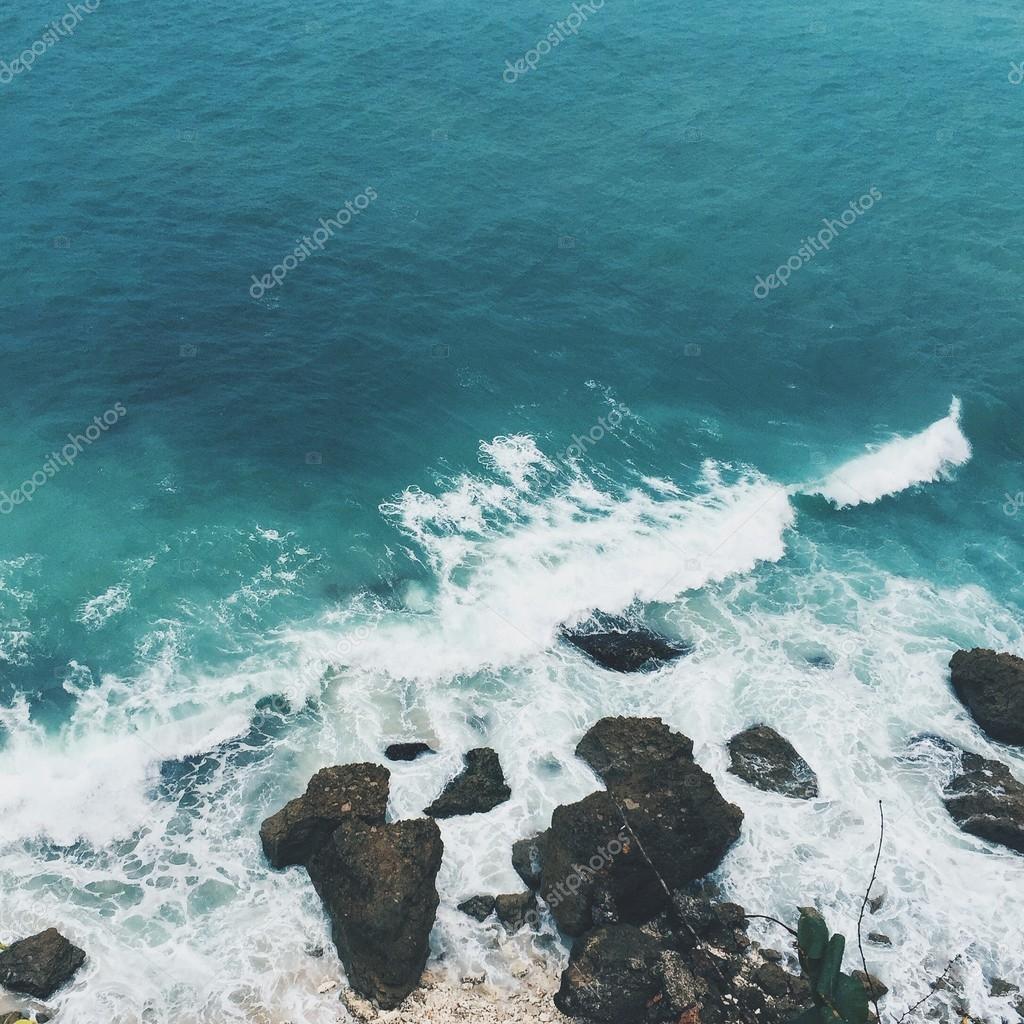 Bali bay and sky