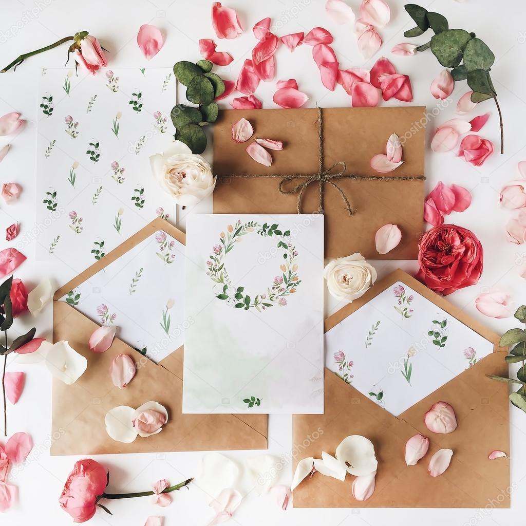Wedding Invitation Cards U2014 Stock Photo #105399502