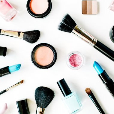 Bright beauty products