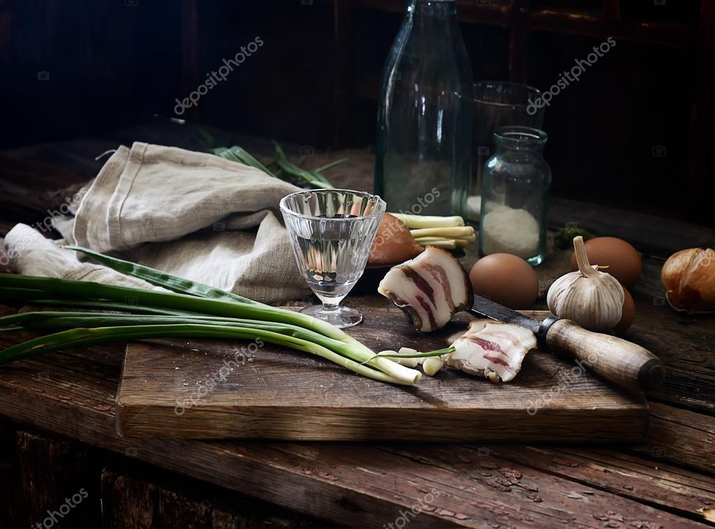 Comida caseira em estilo r stico stock photo venge for Stock cuisine saint priest