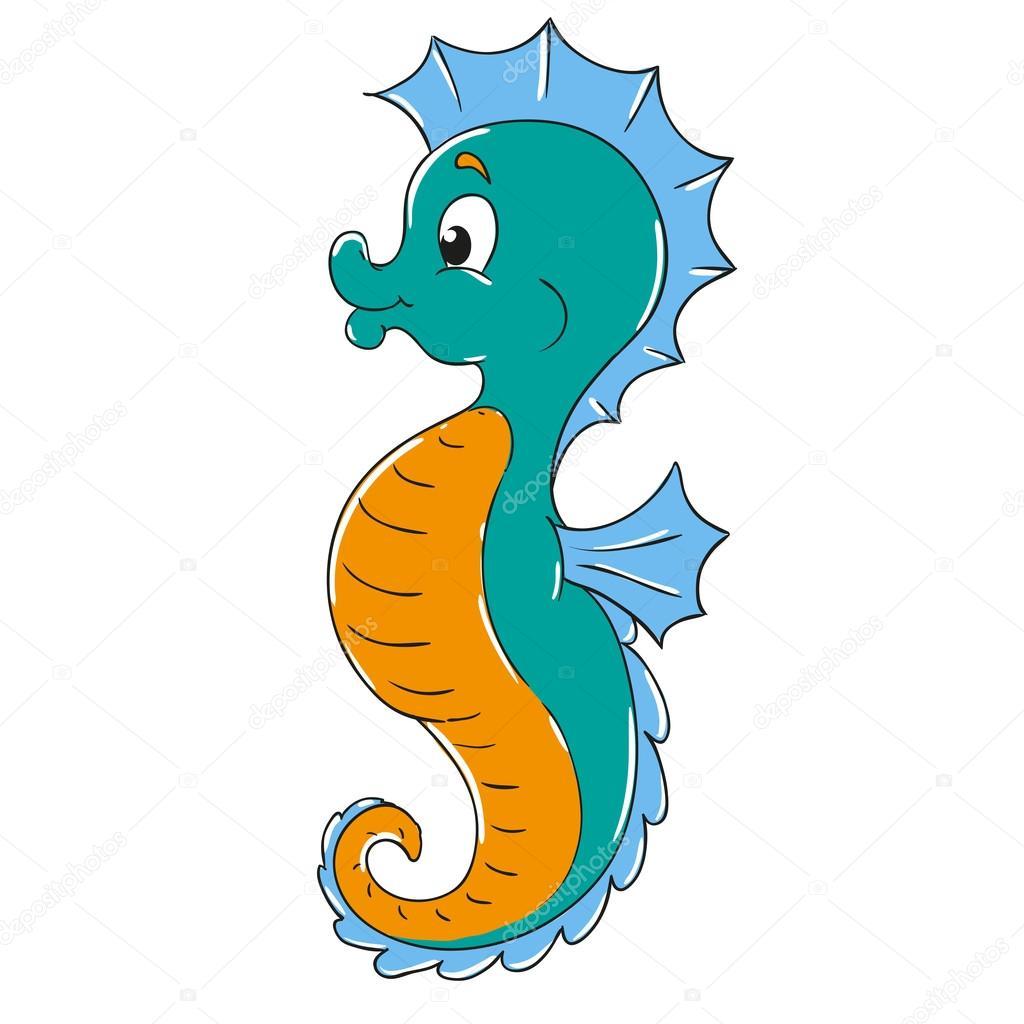 personaje de dibujos animados de caballito de mar seahorse clip art black and white seahorse clip art free images