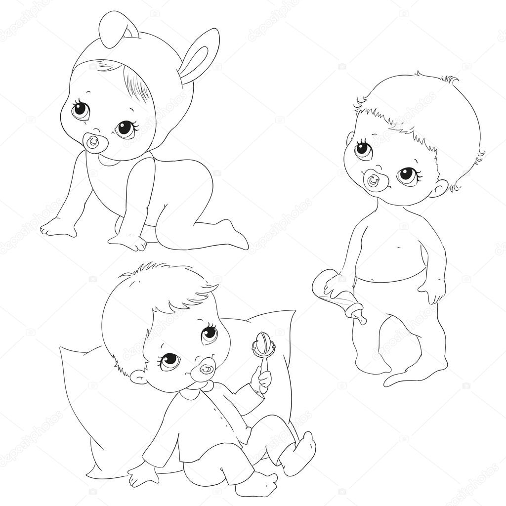 HD wallpapers coloring sets for kids