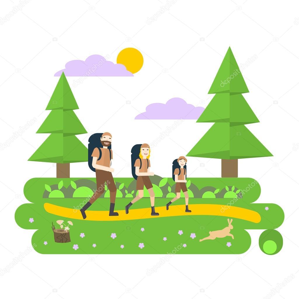 Výsledek obrázku pro výlet do lesa
