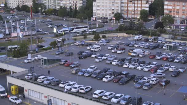 Parkplatz im Freien