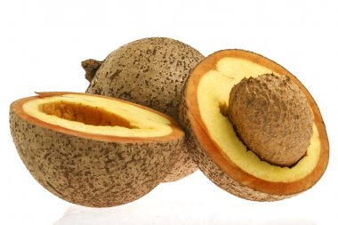 Tropical fruit -  mammee apple (Mammea americana)