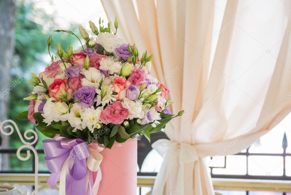 tafeldecoratie bloemen