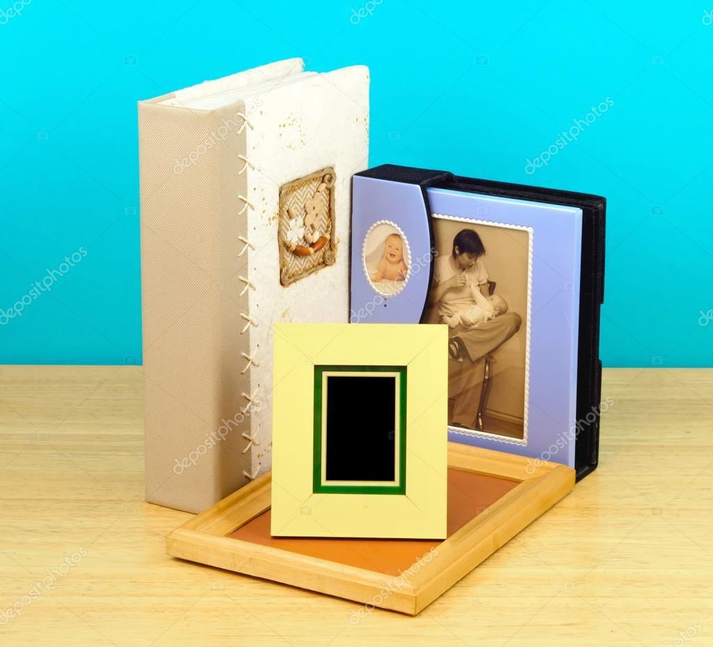 Digitale Bilderrahmen und Alben. fotografische shop — Stockfoto ...