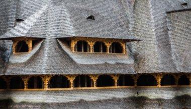 Shingle roof in Maramures