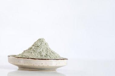 Sea mud in a bowl