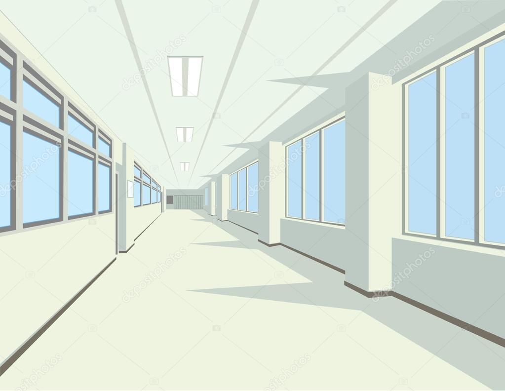 Interior de pasillo de la escuela o colegio archivo - Fotos de pasillos de casas ...