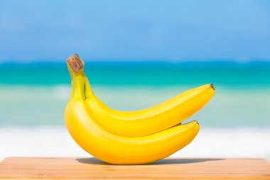 Bananas at the beach