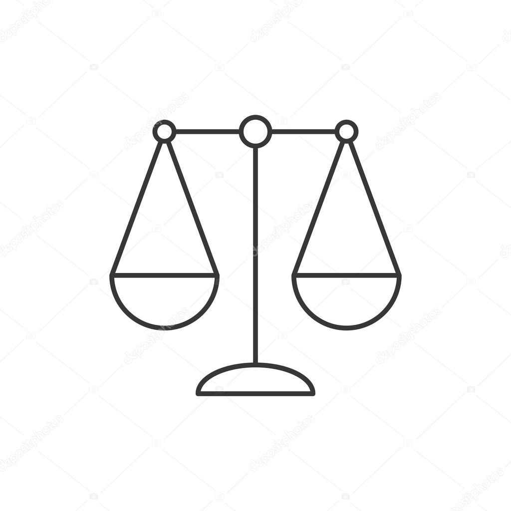 Balance icon libra zodiac sign thin line icon sign of justice balance icon libra zodiac sign thin line icon sign of justice simple line vector biocorpaavc Choice Image