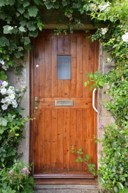 View of a House Front Door