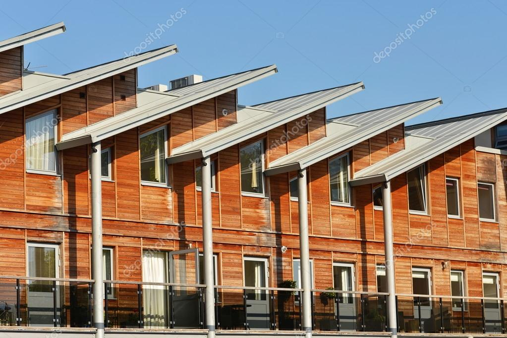 Terraced Apartment Building