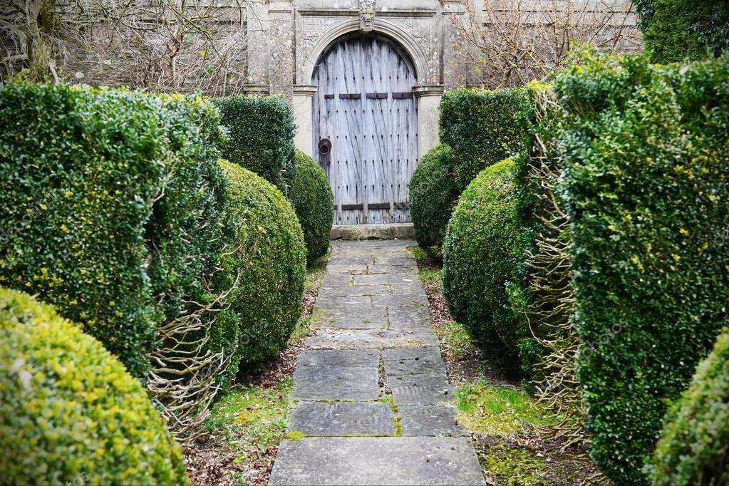 Entrance to a Beautiful Garden