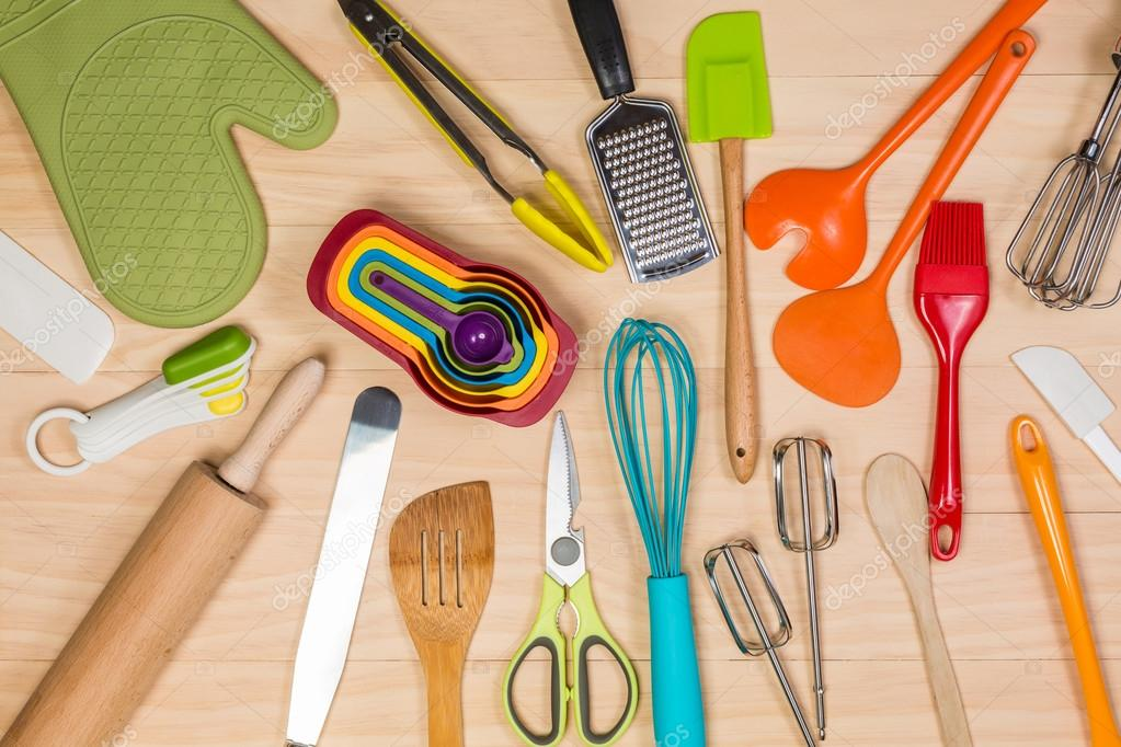 colorful kitchen utensils Stock Photo lostation 106006912