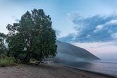 foggy evening in the Bay Sukhaya
