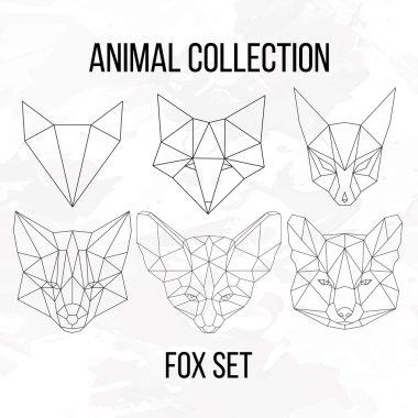 Big fox set