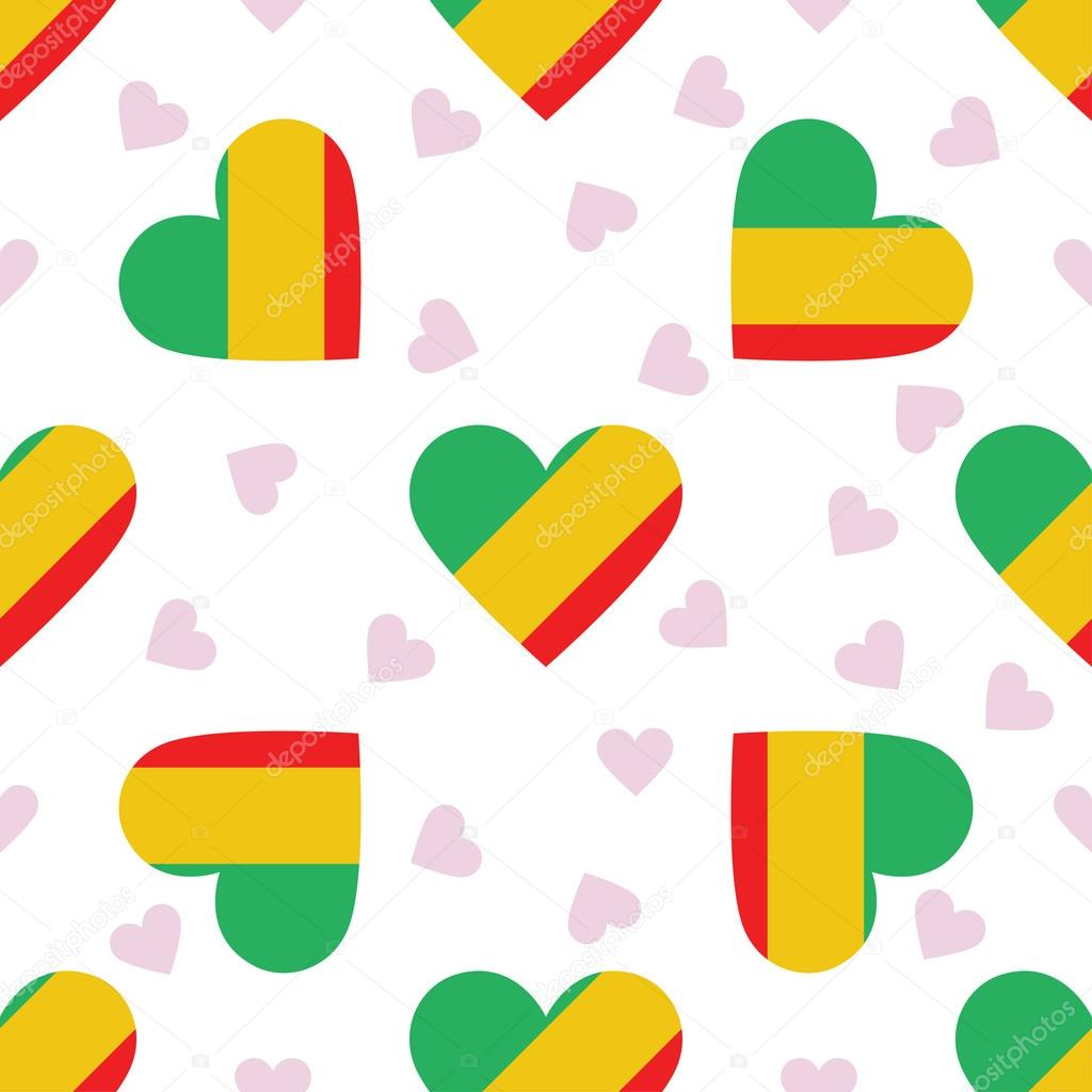 Congo Independence Day Seamless Pattern Stock Vector DoozyDo - Congo independence day